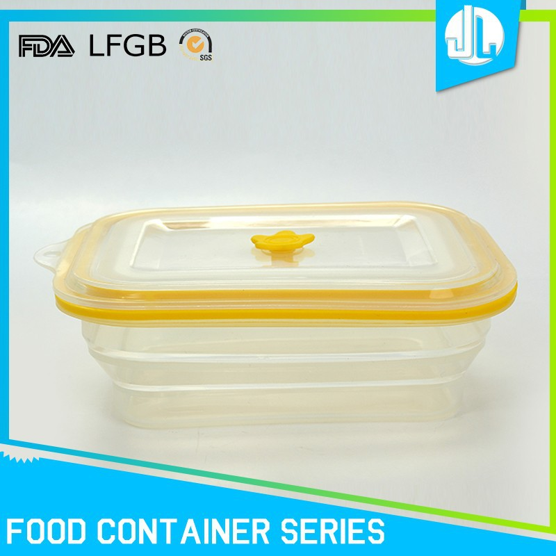 Custom silicone material seal tight food container