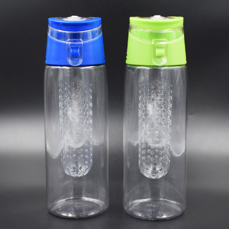 QuiFit Water Infuser Bottles,Put Fruit in a Compartment Inside the Bottle,It Gives Flavor to the Water