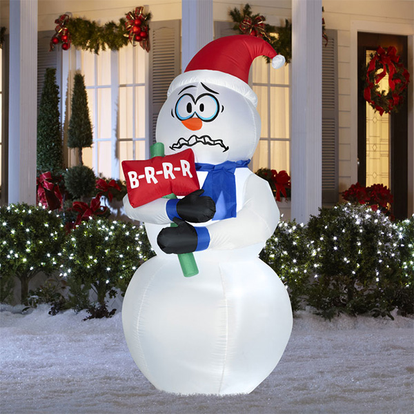 Giant Christmas Inflatable Colossal Santa Claus Yard Holiday Decoration Inflatable Standing Santa
