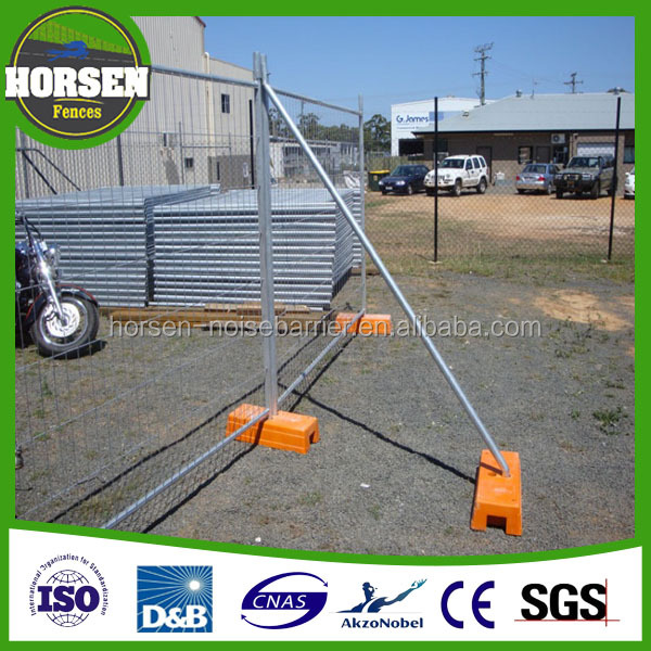 Temporary Steel Fencing (Panel, Base & Clamp) Australia