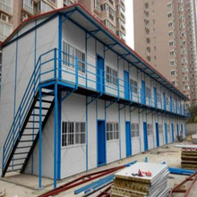Prefabricated Steel Structure Building Modern Style Light Gauge Modular House For Sale