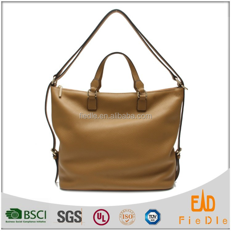 CSS1333-001 Vogue trendy 100% women handbags pure cow genuine designer leather handbag