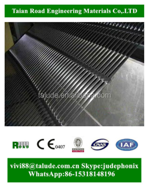 Roads and runways construction material hdpe/ pp uniaxial geogrid