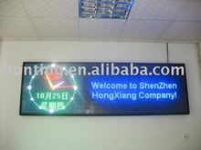 Neon LED screen double color P7.62 electronic sign message board