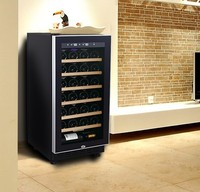 220V50HZ R600A 28-bottles humidity control wine cooler wine refrigerator