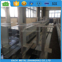 Prefabricated hot dip galvanized light steel frame structure