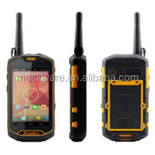 4.5inch walkie talkie function runbo Q5 rugged waterproof mobile phone