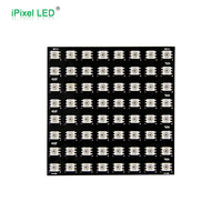 8x8 APA102C rgb square led matrix dot pixel display IP20