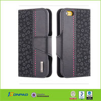 2014 functional style pu leather case for iphone 6