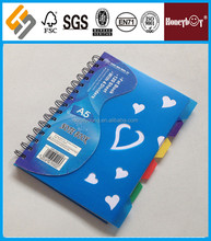 for study A4/A5/A6 spiral notebook colored paper