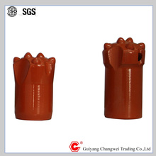 GUIYANG 34mm button bits and taper bits with 7 degree
