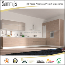 American project L shape modern modular kitchen cabinet design with china factory wholesale affordable price