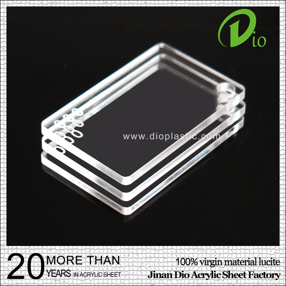 recycled plexiglass 1000*2000mm cast clear acrylic sheet