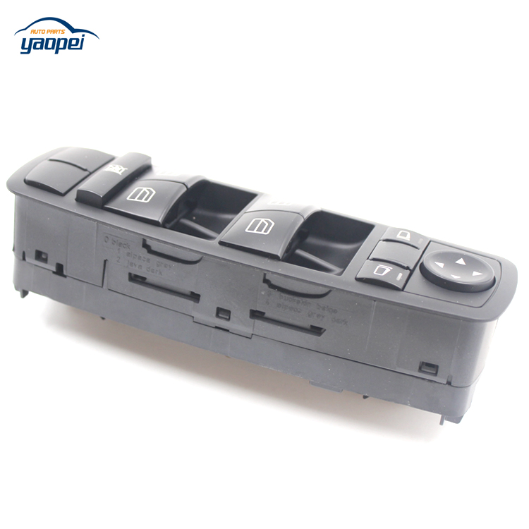 NEW Left Front Door Window Mirror Master Switch A2518300090 For Mercedes W164 ML GL R Class