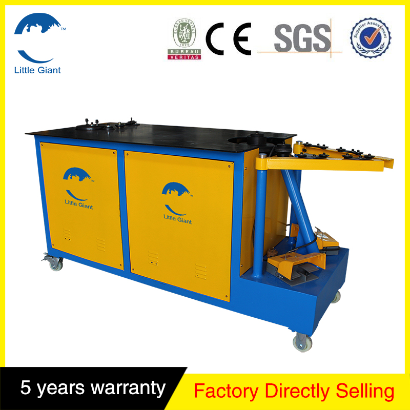 Horizontal elbow forming bending machine,galvanized steel end forming machine