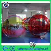 Wholesale factory price giant inflatable water toys, cheap 0.8mm PVC/0.7mm TPU water ball price