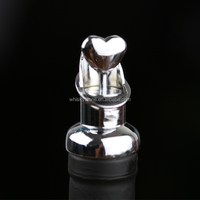 High Quality Christmas Heart Shape Metal Wine Bottle Stopper