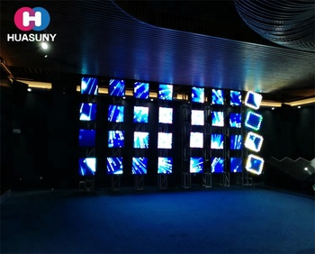 Stage Moving Head LED Cabinet Display with Lighting