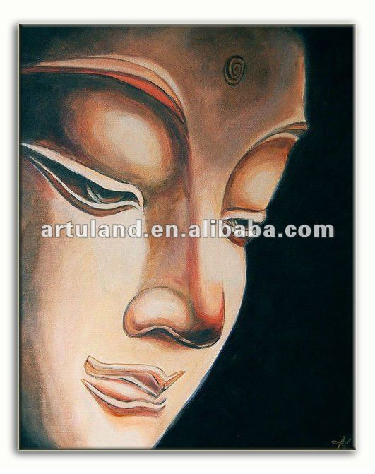 Modern buddha painting of canvas art picture