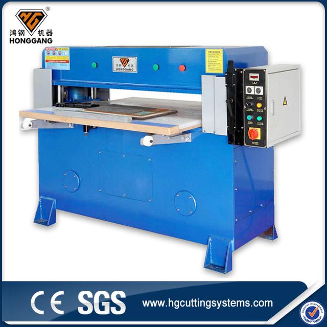 Low price manual paper photo frame hydraulic die cutting press machine