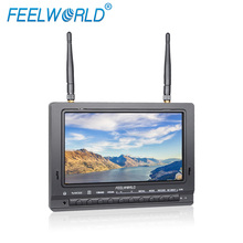 Aerial Auxiliary lcd Monitor 7'' Widescreen 16:9 Camera 5D II Mode RCA/BNC Connector Optional amazing led arrow helicopter toy
