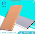 2016 hot sell portable power bank polymer slim external battery charger