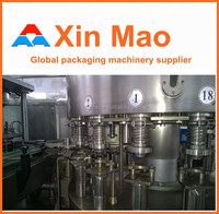 Xin Mao Brand energy drink cans filling machine /gas-containing /without gas can filling line