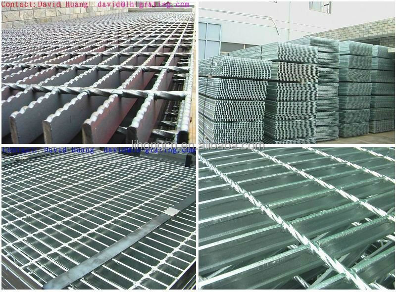 China Lihong factory galvanized floor <strong>steel</strong> grating prices