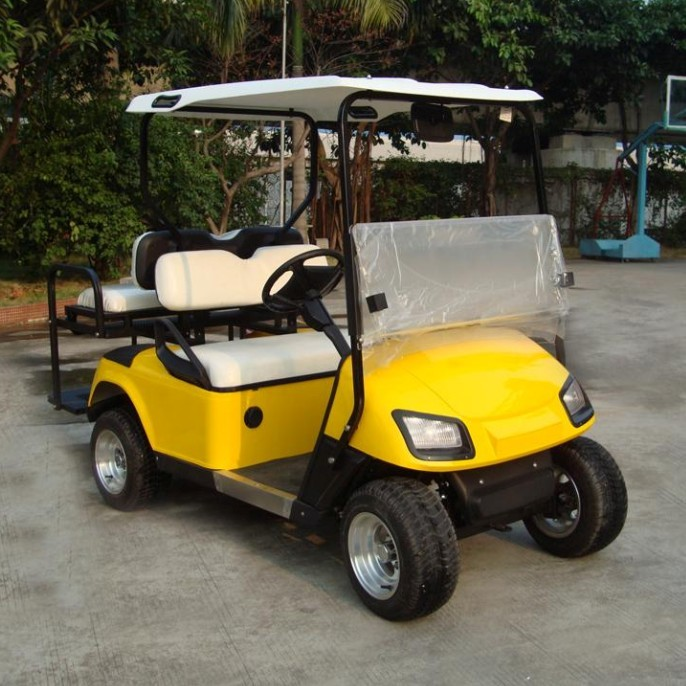 4 seat electric off road farm vehicle powerful golf cart factory outlet