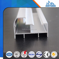 free sample Linqu factory 6063 series aluminum cabinet door extrusion