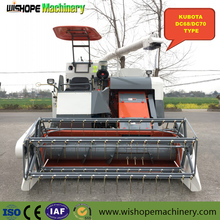 2M Cutter Bar OEM Kubota Rice Wheat Full Feeding Combine Harvester In Vietnam