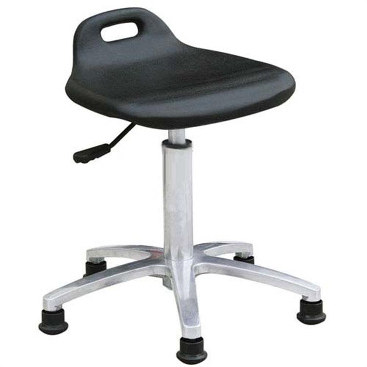 Antistatic Chinese Knot Black ESD PU Foamed working Chair