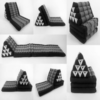 Traditional folding foam thai triangle pillow