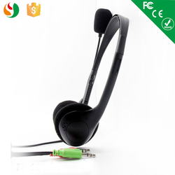 Cheap computer headset wholesale head phone with mic