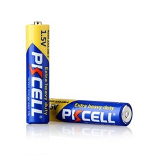PKcell Brand R03P R6P 1.5V battery AAA R03p Zinc Carbon no rechargeable toys car dry cell Battery R03 AAA