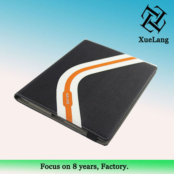 Pu case for ipad 5,famous style case for apple ipad5