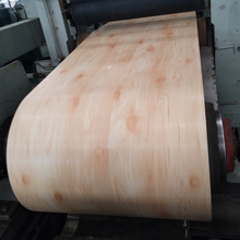 Wooden design color coating ppgi coil for building materials roof