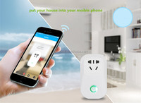 Smart Home Automation EU Plug Power Socket WiFi Wireless Remote Control Plug smart Light Switch