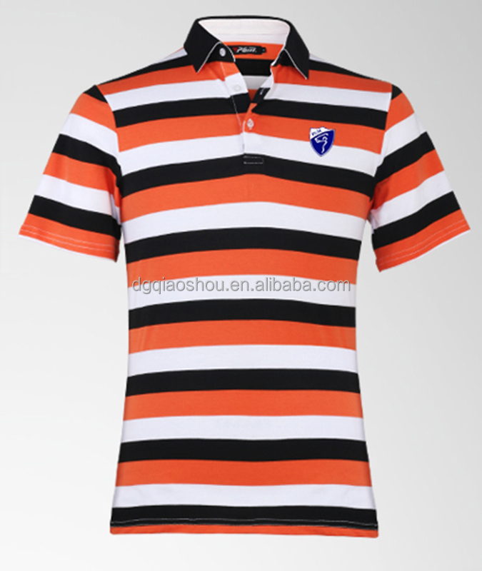 Wholesale Cotton Spandex Mens Polo Shirts Men's Golf Sports POLO shirts Mens polo shirts supplier from China