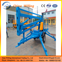 High cost performance vehicle mounted boom lift