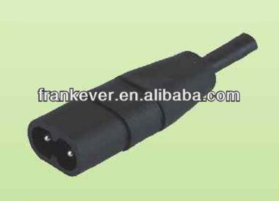 PVC Amarica / Canada Copper POWER CORD Tail Plug with UL and CUL