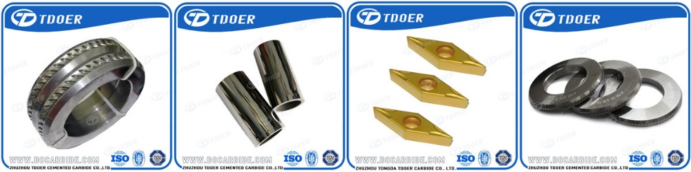 Customized Size high wear resistance tungsten carbide nozzle