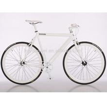 new style 43mm alloy rim colorful road fixie gear bike