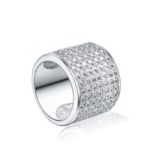 Wholesale China 925 silver jewelry factory direct mood woman man ring