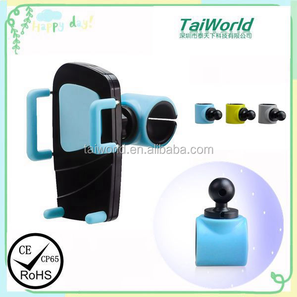 2016 Newest Design Universal 360 Degree Rotation Mobile Phone Holder For Car Mount Holder