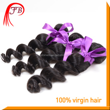 Top Grade 100% Human Virgin Loose Weave Hair Extension Brazilian Hair From Brazil