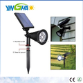 180 angle Adjustable LED Outdoor Garden Waterproof Solar Spotlight Wall lights