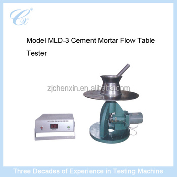 MLD-3 Cement Mortar Flow Table Tester
