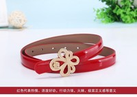wholesale cheap 2016 new skinny PU women fashion belt