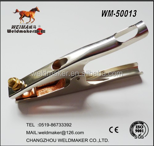Popular American Type Earth Clamp 500A for welding machine